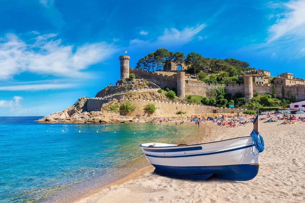 strand katalonien