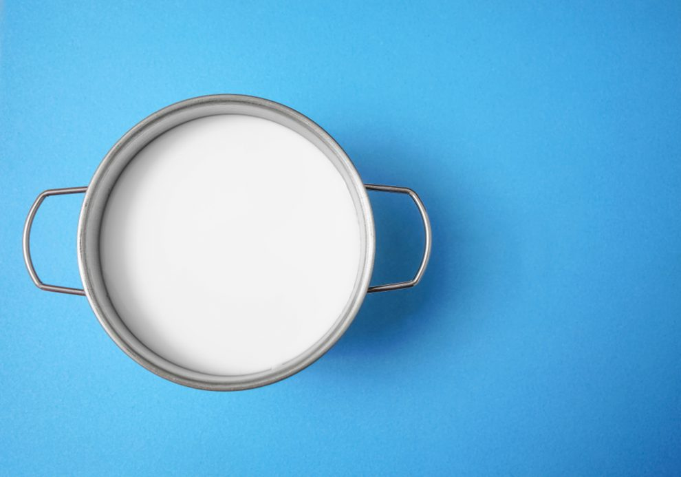 Milch kochen