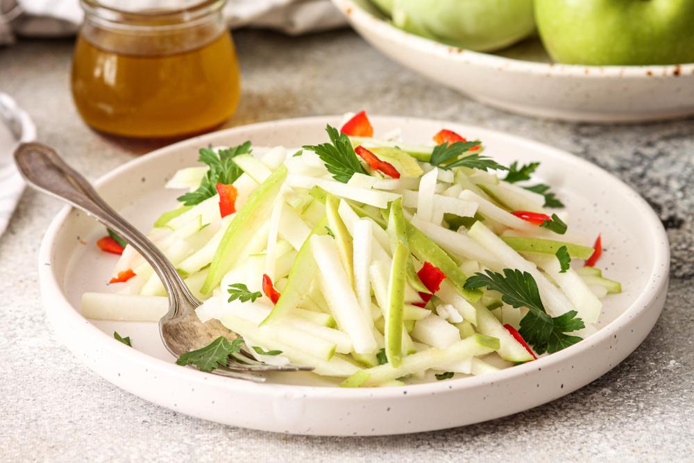 salat aus kohlrabi