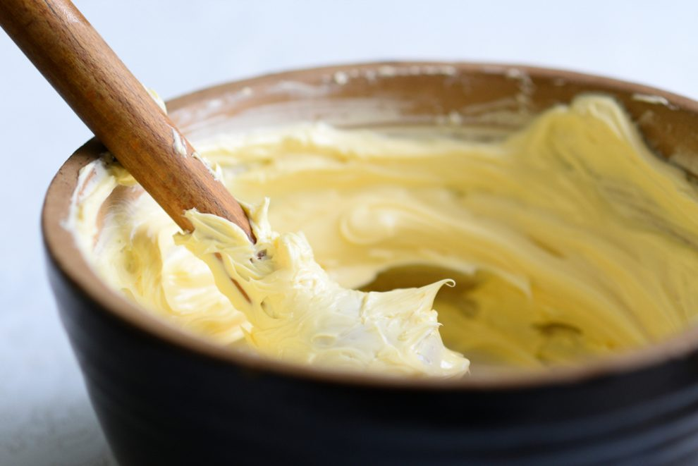 Butter aufschlagen