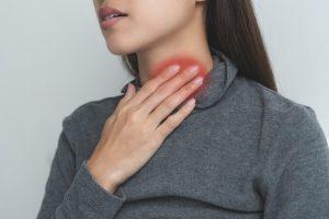 Halsschlagader Schmerzen