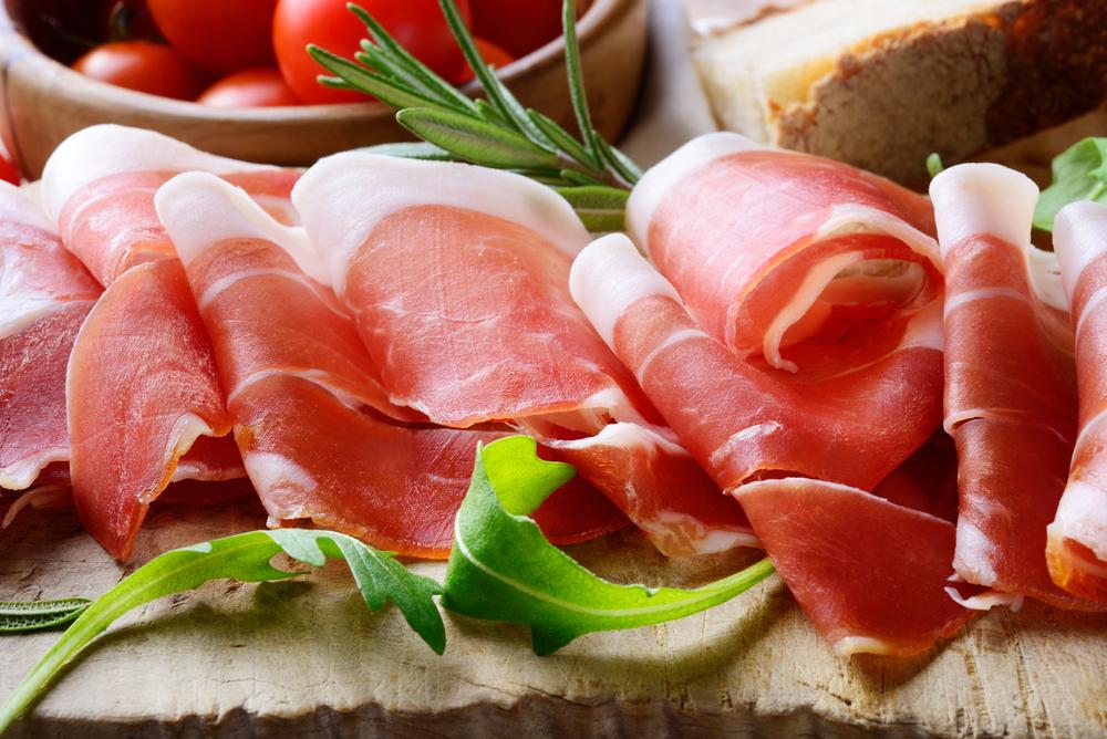 italienischer rohschinken
