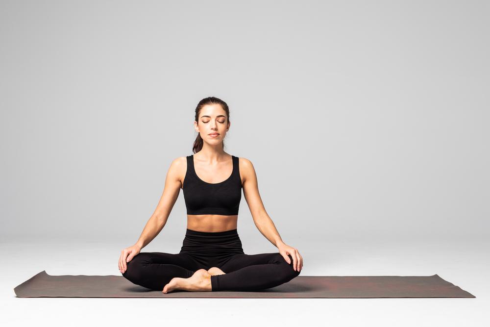 schneidersitz meditieren